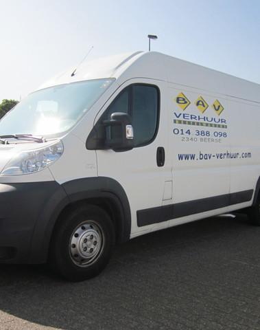 Bestelwagen met laadruimte van 13m³