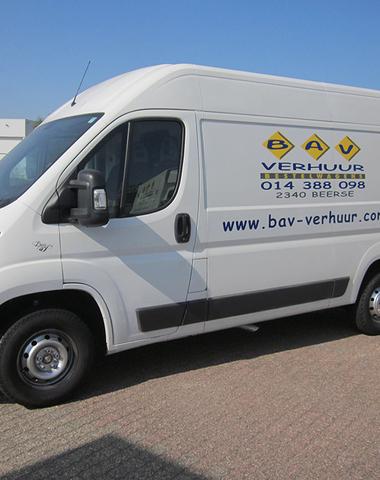 Bestelwagen met laadruimte van 11m³