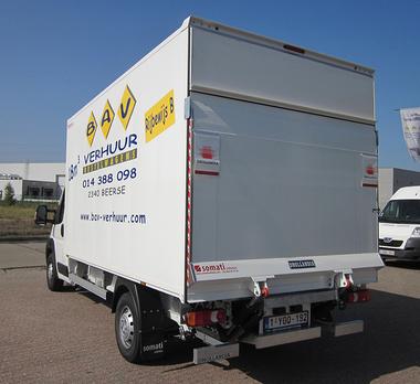 Bestelwagen met laadruimte van 18m³